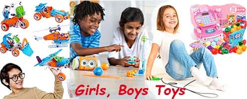 Girls Boys Toys Home Page Image