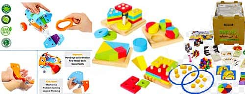 Problem Solving Toys Home Page Image